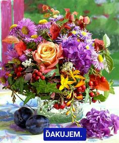 Beautiful Love Pictures, Beautiful Gif, Flower Arrangements Simple, Flower Vases, Good Morning Flowers, Good Night Image, Natural Garden, Arte Floral, Motion Design