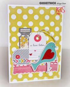 Gigi Et Moi: Tarjetas de amor / love cards