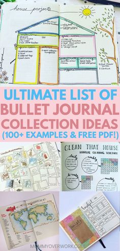 BULLET JOURNAL IDEAS! Pretty examples of collections, spreads, layouts to help me track the setup of my pages. Great inspiration! Love the weekly spread, font tips, cleaning, books, fitness, finance trackers. Organized by category from health, college student, organization, reflection   #bulletjournal #bujo #bujoing #bulletjournal #bulletjournallove #bulletjournaladdict #bulletjournaljunkie #bujolove #bujoinspire #bujoinspiration #bujocommunity #bujojunkies #bulletjournalcollection…