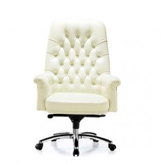 White Executive Office Chair - Foter