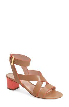 kate spade new york 'kensley' block heel sandal (Women) available at #Nordstrom