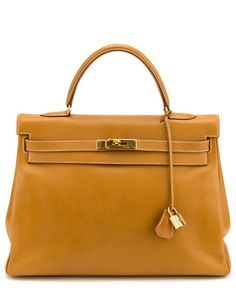 Hermes Natural Ardennes Leather Kelly 35cm GHW