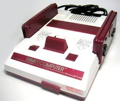Family Computer - Also known as FamiCom, this is the Japanese model that would become the Nintendo Entertainment System (NES) in North America.