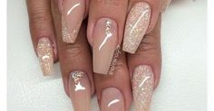Top 100 Most-Creative Acrylic Nail Art Designs and Tutorials - Page 3 of 4 -... | Glitter, Wedding and Ideas