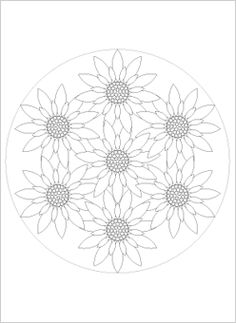 printable mandala color pages
