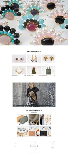 Minimal Theme, Templates, Store, Link, Shopping, Instagram, Jewelry, Models, Stenciling