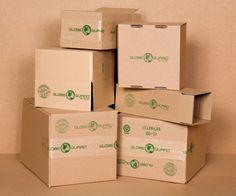 eco friendly stock corrugated boxes