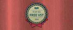 Top 40 Free VST Plugins! (Best Of 2014)   As we approach the New Year, it's the perfect time to look back through the BPB news archives and make a detailed retrospective of the most amazing free VST plugins which were released in 2014.  The list is organized into four different categories. Use the menu provided below to quickly skip through the plugins and keep in mind that you can jump back to top at any point, by clicking the appropriate link (provided under each plugin listing).