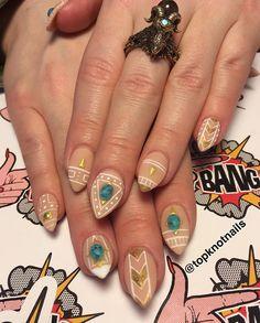 @topknotnails Birthday set for @micaelablahblah - presto gel, matte + embellishments from @oceannailsupply inspo @superflynails #birthdaynails #handpaintednailart #nailswag #fingerbangme #fingerbang #fingerbangportland #nailswag #nailchurch