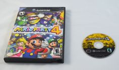 Mario Party 4 - Nintendo Gamecube - Case and Disc ONLY