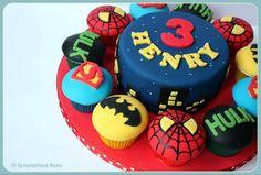 Superhero Cupcake Collection