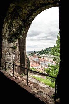 Foto: Happy friday! Heidelberg, Germany. by Roberto Croizay