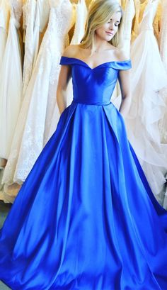 2018+prom+dress,long+prom+dress,+roayl+blue+prom+dress,+off+the+shoulder+prom+dress,+senior+prom+dress,+frormal+evening+dress Contact+me: modseley.com@outlook.com 1.+Besides+the+picture+color,+you+can+choose+any+color+you+want. 2.+Besides+stand+size+2-16,+we+still+offer+free+cu...