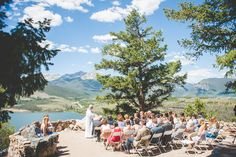 Summer Colorado Wedding Ceremony at Sapphire Point — Keeping Composure…
