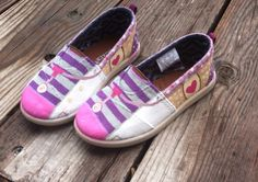 Items similar to Doc McStuffins- Toddler- Youth- Toms- Painted Toms- Customs Shoes- Disney Shoes- Disney Toms- Disney Junior- The Doc Is in- Birthday Gift on Etsy