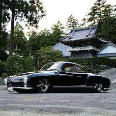Low black Ghia from Japan
