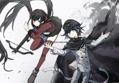 Maki Harukawa and Oma Kokichi // New DanganRonpa V3 Killing Harmony