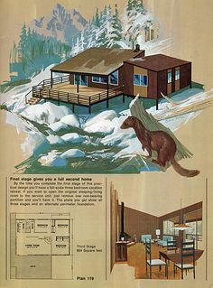 Plan 119-b | Flickr - Photo Sharing!  I remember seeing ads for these small kit size homes.