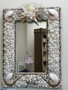 Shell Mirrors - Seashore Chic