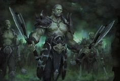 Orcs by LlyncisCheck out Tabletop Gaming Resources for more art, tips and tools for your game!