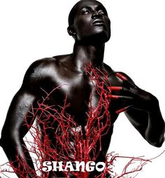 """SHANGO: Yoruba Orisha"" by International photographer James C. Lewis"