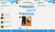 Latest Tech News: Skype Launches New Design For iPhone