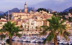 Menton, France   One of my most favvvvorite places in France.