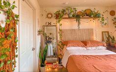 Room Design Bedroom, Room Ideas Bedroom, Bedroom Inspo, Home Bedroom, Bedrooms, Chill Room, Cozy Room, Indie Room, Green Rooms