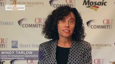 Mindy Tarlow, CEO & Executive Director, of CEO, discusses Creating Employment Opportunities