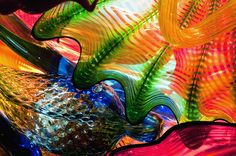 Chihuly blown glass.