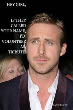 LOL...way to snag an English teacher!!  Noah Calhoun pulls a Hunger Games.... Score.