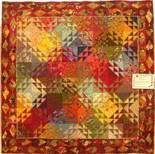 corn and beans quilt -
