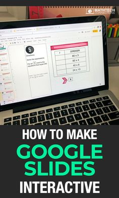 learn what to do when your google slides activities are not interactive. Use google classroom activities with elementary students.   #math #googleclassroom #googleslides #remotelearning #distancelearning Math Workshop, Reading Workshop, Reading Centers, Math Centers, Teacher Planner, Third Grade Math, Flipped Classroom, Blended Learning, Google Classroom