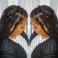 Medium Faux Locs by Cassandra.Monet
