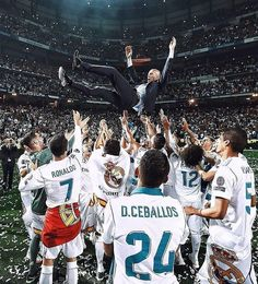The Frenchman has officially stepped down as manager of Real Madrid What's the story? According to reports, Zinedine Zidane has stepped down as manager of Real Madrid, just days after helping them to their third successive Champions League Real Madrid Manager, Real Madrid Club, Real Madrid Football Club, At Madrid, Real Madrid Players, Real Madrid Manchester United, Real Madrid Champions League, Real Madrid Wallpapers, Santiago Bernabeu