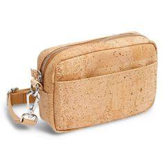 Umhängetasche «Corkor» aus Kork – Crossbody Pouch aus Kork Zip Around Wallet, Coin Purse, Purses, Pouch, Bags, Fashion, Laptop Tote, Fanny Pack, Sustainable Fashion