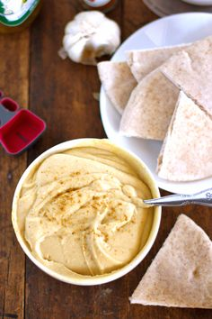 A simple hummus recipe for the times you don't have (or want) tahini