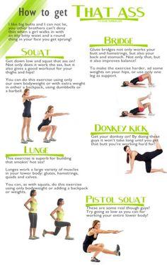 ass exercises.