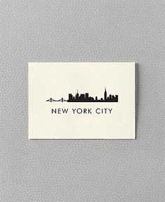 New York City Skyline as a tattoo with a Bruce Springsteen quote would be lovely