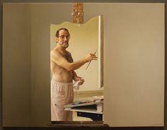 """Autorretrato / Self Portrait"", óleo sobre lienzo / oil on canvas,"