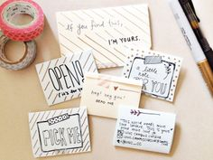 """I mentioned briefly in my """"Journaling in July"""" post that I had discovered the organization, More Love Letters. Snail Mail Gifts, Snail Mail Pen Pals, More Love Letters, Cute Letters, Pen Pal Letters, Pocket Letters, Writing Letters, Decorated Envelopes, Envelope Art"""
