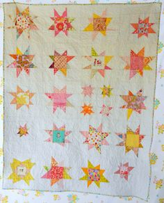Wonky Star Quilt - Trust Circle Do. Good Stitches (love being a part of this group!!!)