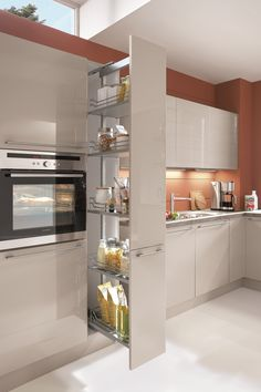 Best for you Best for you You have the right to have the best For advice and safety . Kitchen Pantry Design, Modern Kitchen Cabinets, Home Decor Kitchen, Home Kitchens, Kitchen Hacks, Kitchen Storage, Modern Kitchen Interiors, Modern Kitchen Design, Interior Design Kitchen