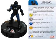 Iron Man #101 Galactic Guardians Marvel Heroclix Single