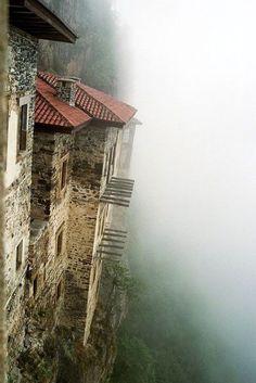 Sumela Monastery, Turkey...