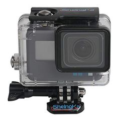 SheIngKa Waterproof Housing Case for GoPro Hero Diving Protective Housing Shell Underwater -- Learn more by visiting the image link. (This is an affiliate link) Gopro Case, Gopro Hero 5, Underwater, Diving, Shells, Image Link, Conch Shells, Scuba Diving, Under The Water