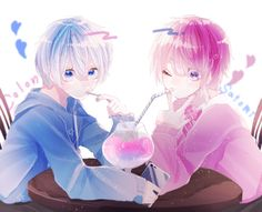 Anime Cupples, Anime Angel, Anime Chibi, Anime Guys, Anime Art, Manga, Pictures To Draw, Pink Aesthetic, Cool Art