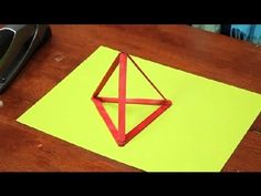 How to Build a Triangle Structure With Popsicle Sticks : Glue & Crafts