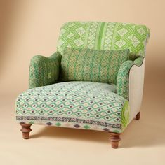 colorful upholstered chairs - Google Search