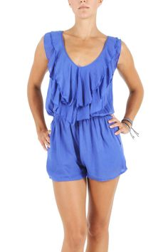 Gemini Playsuit - Royal blue